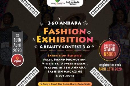 360 Ankara Fashion Exhibition: Call For Exhibitors